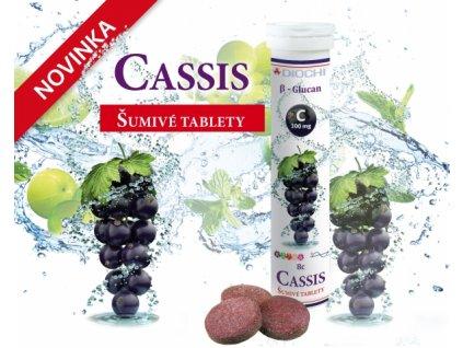 Vitamín Cassis 20 tablet