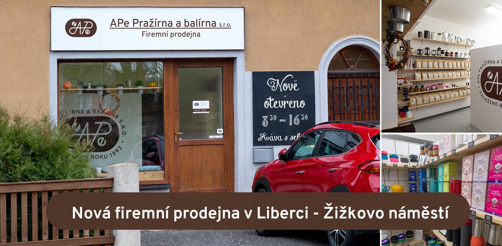 Nová firemní prodejna v Liberci - Žižkovo náměstí