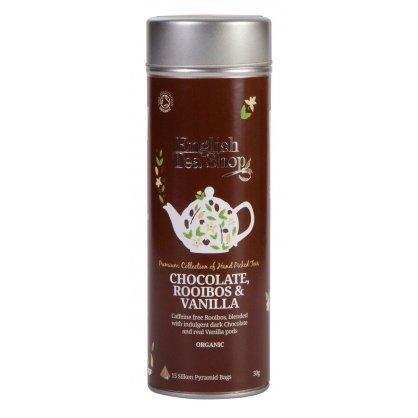 chocolate rooibos vanilla 15 pyramidek