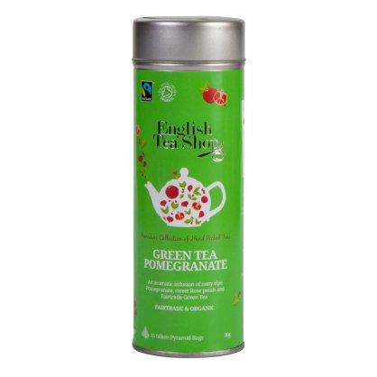 green tea pomegranate 15 pyramidek