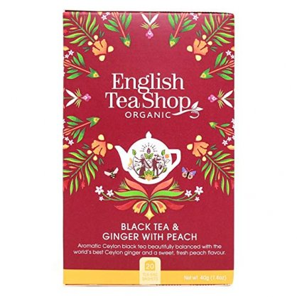 english tea shop black tea peach ginger