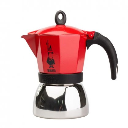 bialetti induction 6tz red