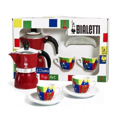 bialetti dama set pop art 1