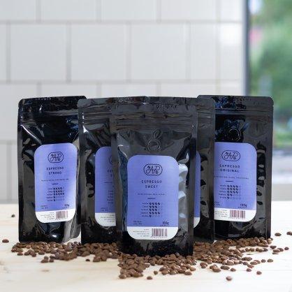 espresso arabica robusta 100