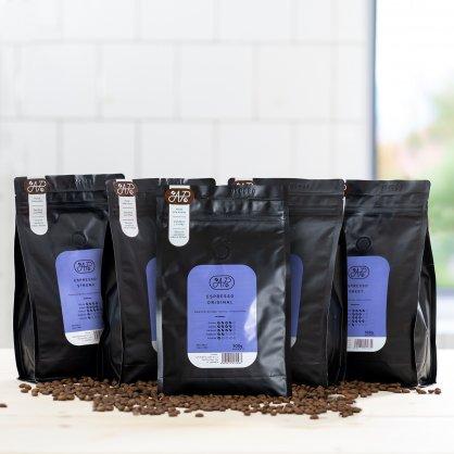 espresso arabica robusta 500