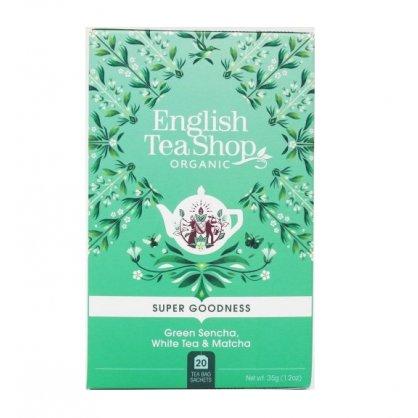 green sencha white tea matcha