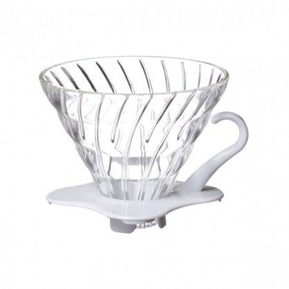 hario dripper glass white 01