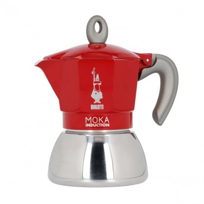 bialetti induction red 3tz