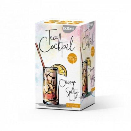 biogena tea cocktail orange spritz flavour