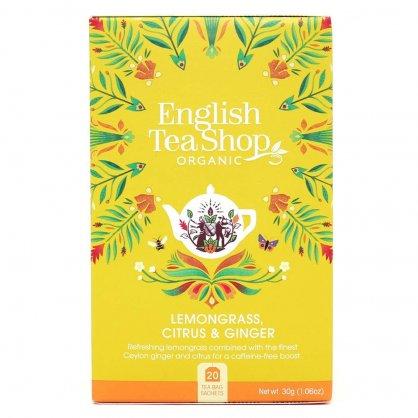 the english tea shop caj citronova trava zazvor citrusy 20 sacku