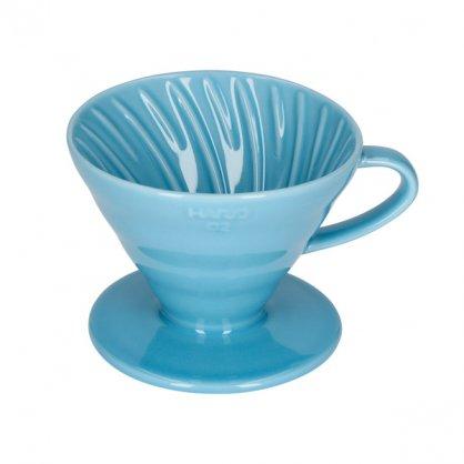 hario dripper v02 blue 2