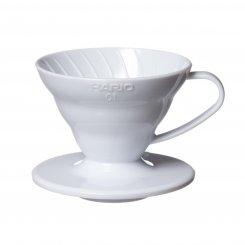 Hario dripper plast bílý 01