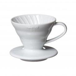 Hario dripper keramika bílý 01