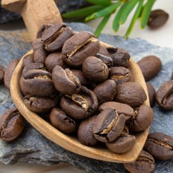 Káva Malawi Rain Forest Alliance (Mletí Hrubě mletá káva - pro french press, cupping, cold brew apod., Váha 1000g)