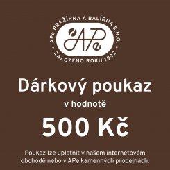 6236 darkovy poukaz 500 kc