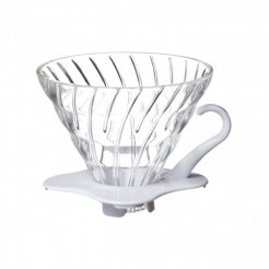 hario dripper glass white 01