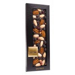 Chocome hořká čokoláda s černým rybízem mandlemi pekanovými ořechy
