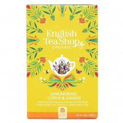 the english tea shop caj citronova trava zazvor citrusy 20 sacku