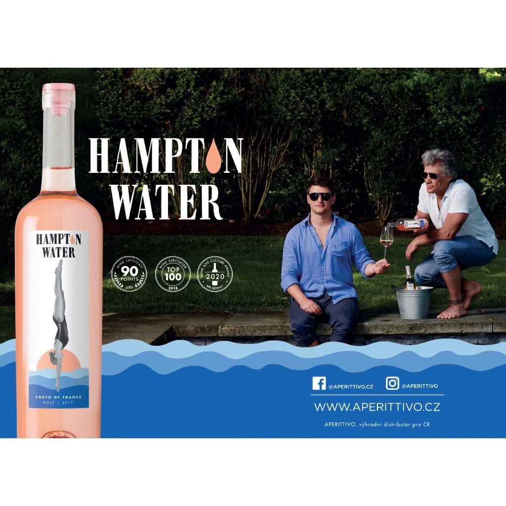Hampton Water 75cl