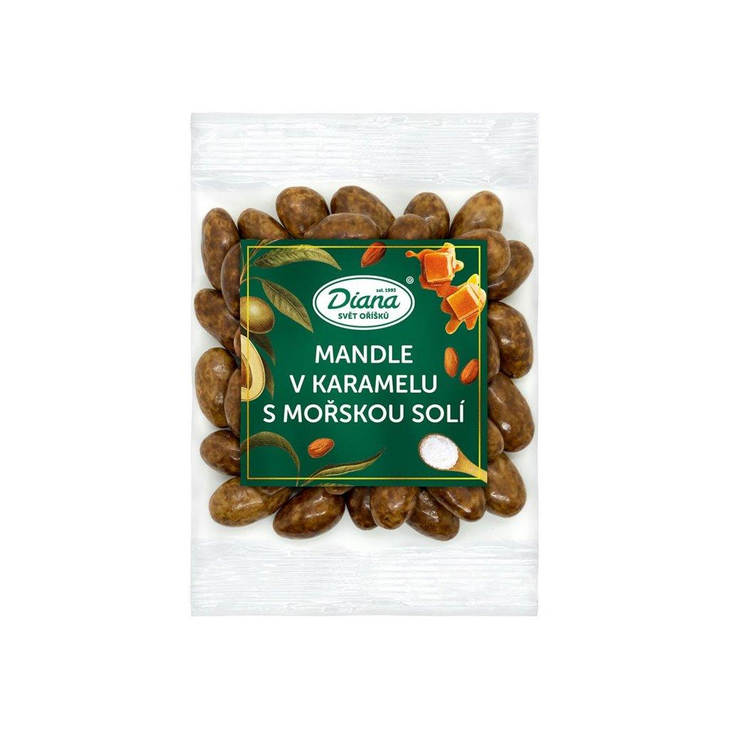 974 1 mandle v karamelu s morskou soli 100g diana company