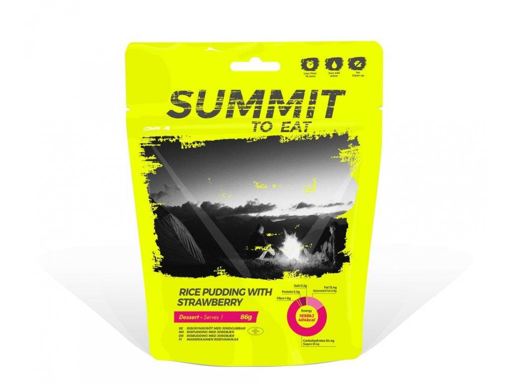 Summit to Eat - Rýžový nákyp s jahodami
