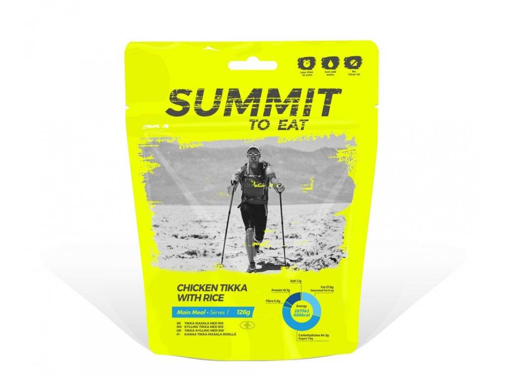 Summit to Eat - Kuře Tikka s rýží