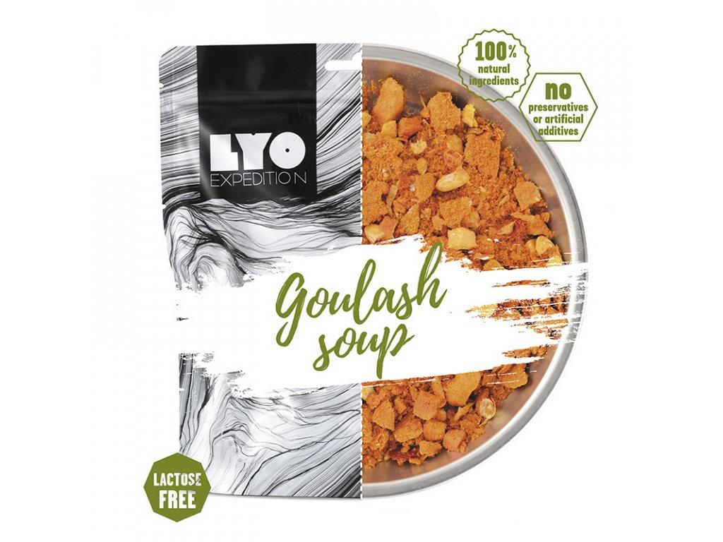 LYOfood - Gulášová polévka s masem
