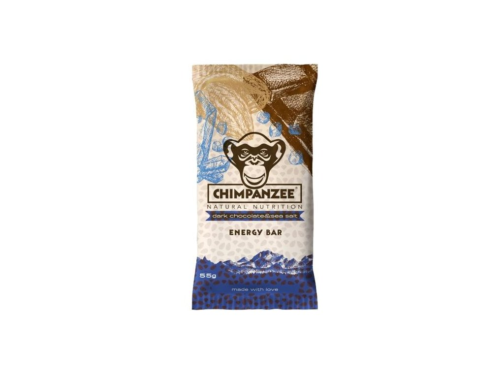 Chimpanzee - Energy Bar - Chocolate & Sea salt