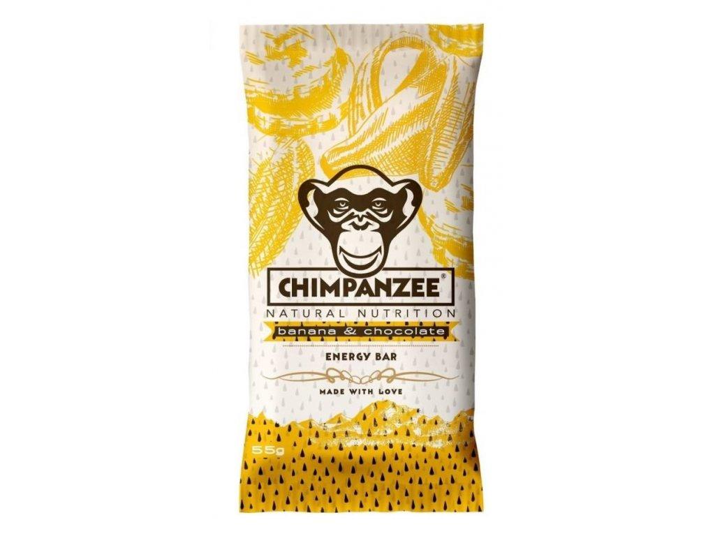 Chimpanzee - Energy Bar - Banana Chocolate