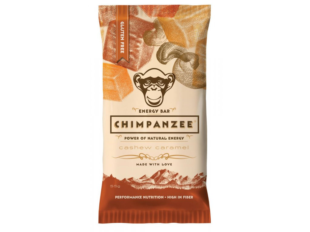 Chimpanzee - Energy Bar - Cashew caramel