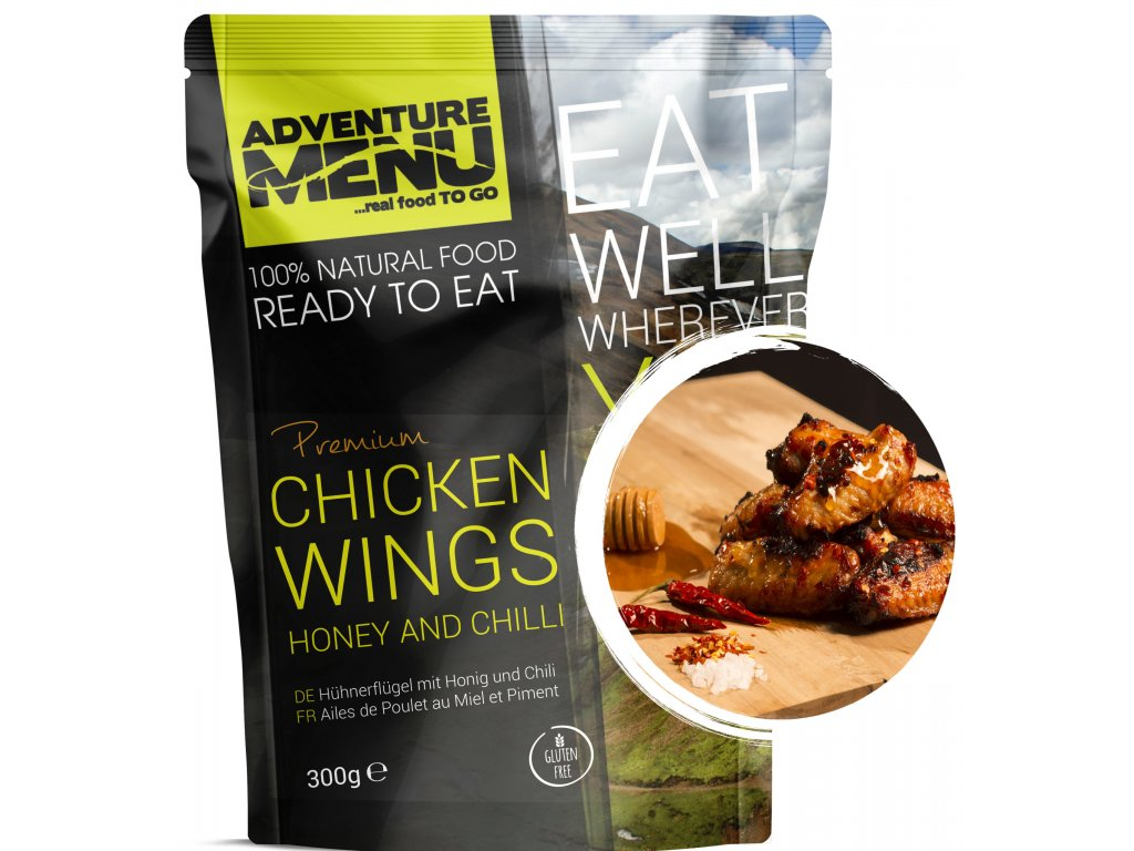 Chicken wings honey and chilli p scaled