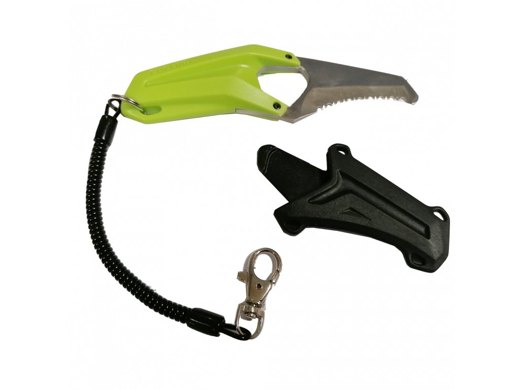 Edelrid Rescue Canyoning Knife open