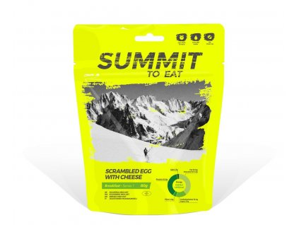 Summit to Eat - Míchaná vajíčka se sýrem