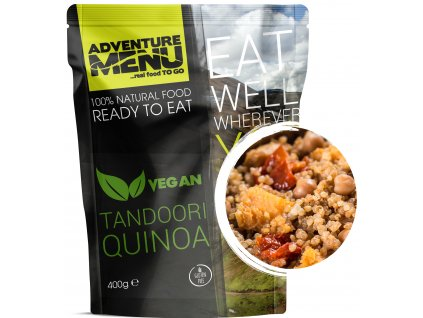 Adventure Menu - Tandoori Quinoa