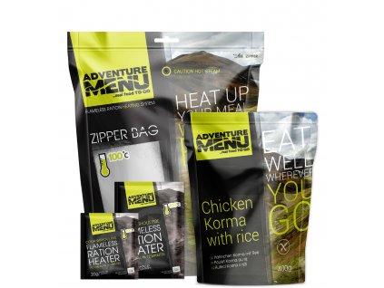 Samoohřev - Sada (3ks 20 g + 2ks 50 g + zipper bag)