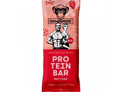 Chimpanzee - BIO Protein Bar - Berries