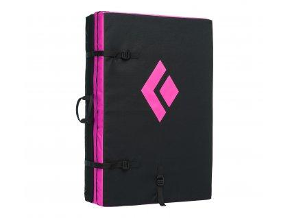 550812 9013 CIRCUITCRASHPAD Black Ultra Pink Closed3qtr