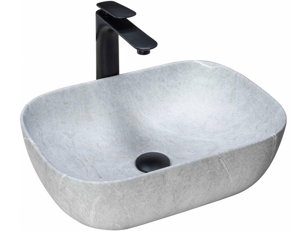 4921 aplomo livia grey umyvadlo na desku