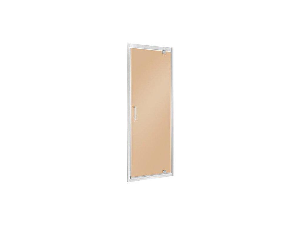 Aplomo Unika brown sprchové dveře 70x195, 80x195, 90x195 (Šířka dveří 70 cm)