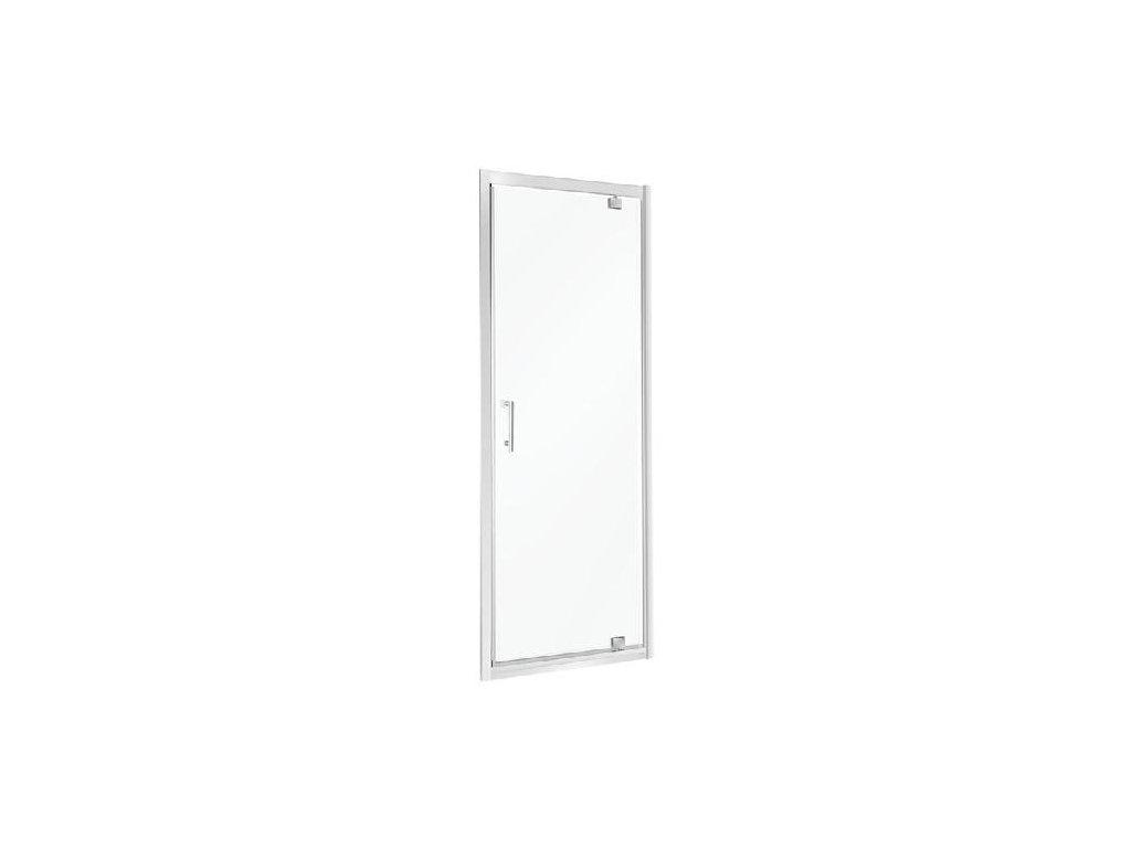 Aplomo Unika transparent sprchové dveře 70x195, 80x195, 90x195 (Šířka dveří 70 cm)