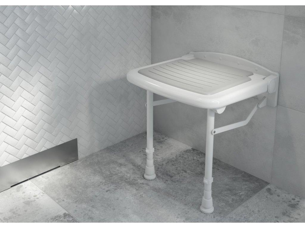 4417 aplomo vitality sklopna stolicka do sprchy s podperami