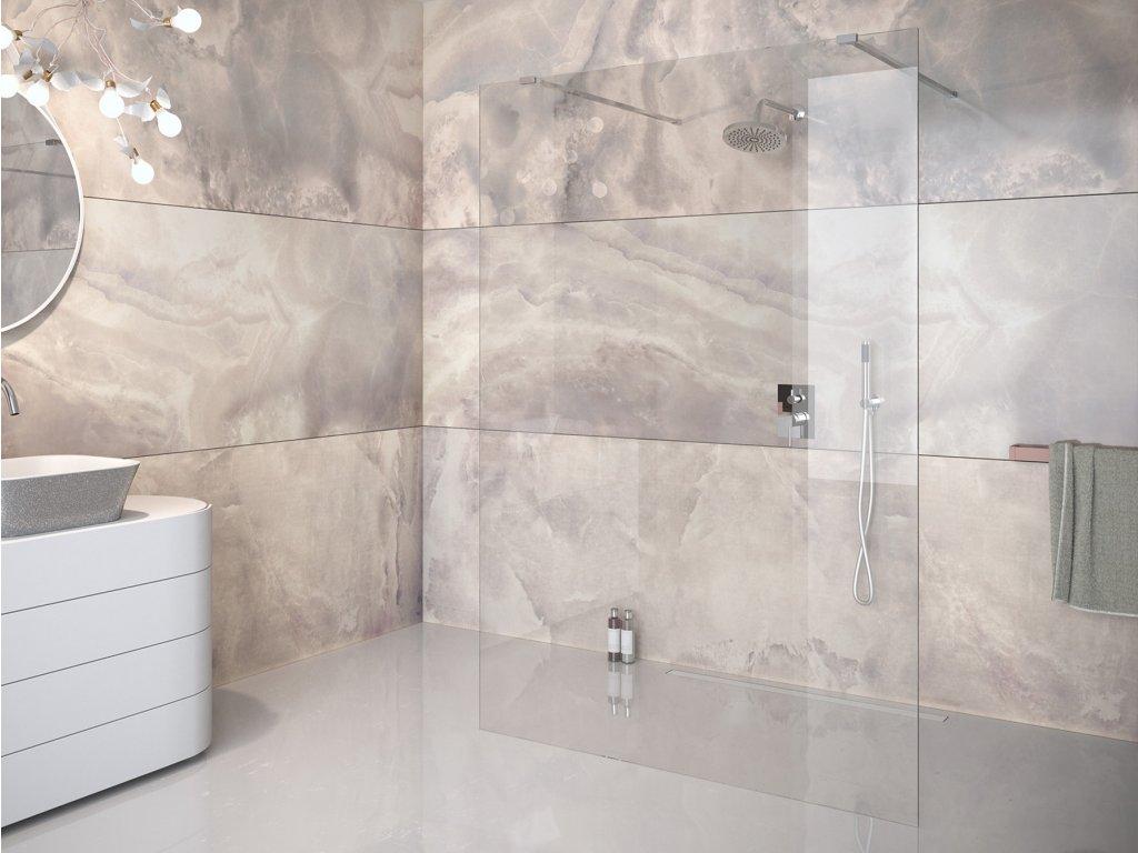 Besco Aveo Due 100 Walk In sprchový kout (Šířka dveří 100 cm)