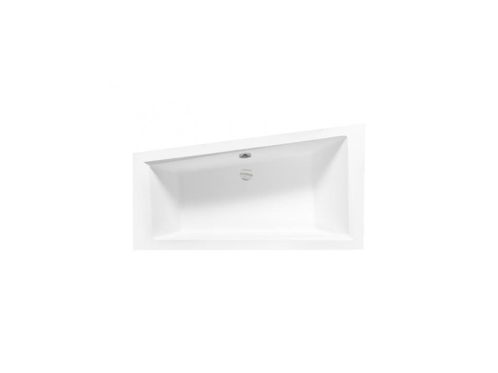 Besco Intima Slim 150x85 akrylátová vana (Délka vany 150 cm, Orientace Levá)