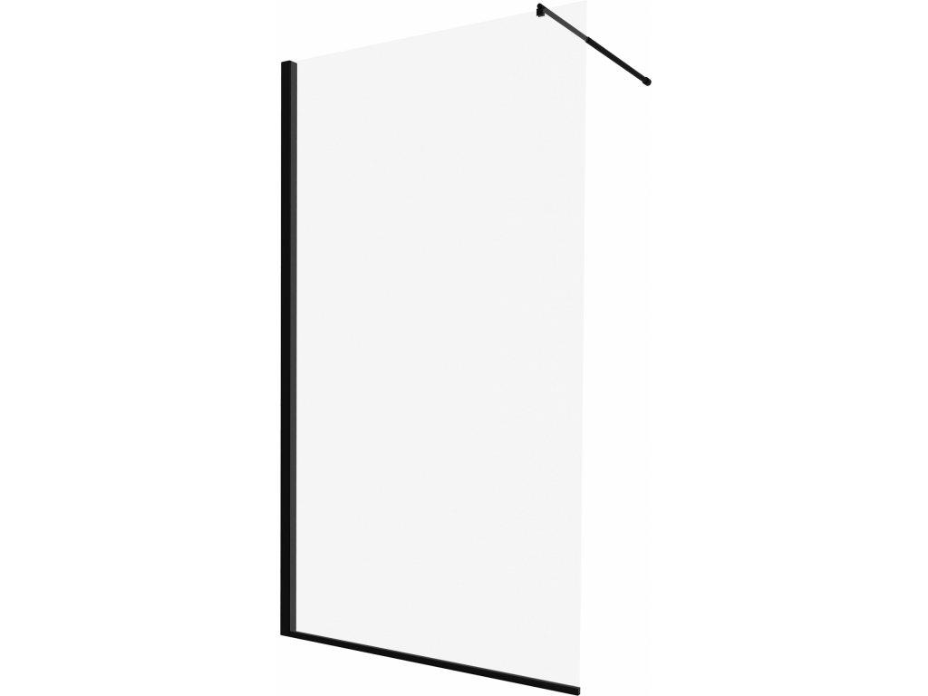 Aplomo Belly 100 black Walk In sprchový kout (Šířka dveří 100 cm)
