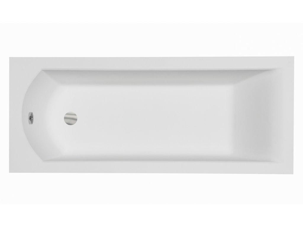 Besco Shea akrylátová vana 140x70, 150x70, 160x70, 170x70 (Délka vany 140 cm)