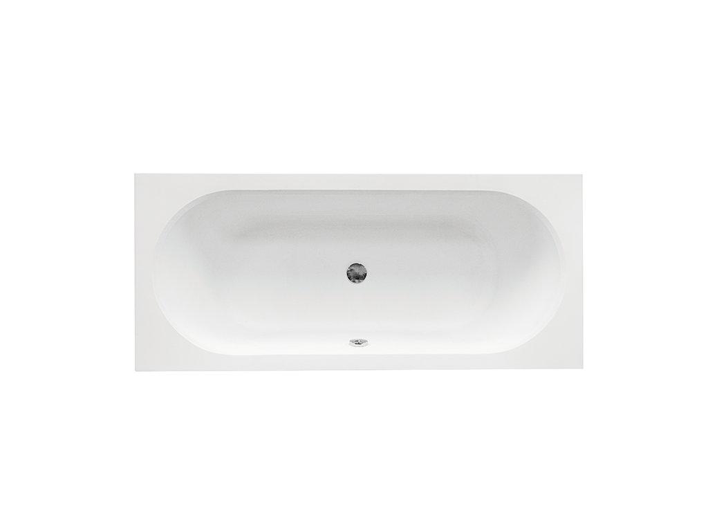 Besco Vitae Slim 180x80 akrylátová vana (Délka vany 180 cm)