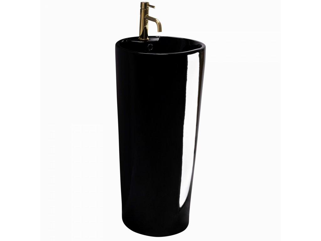 5251 black edition blanka volne stojici keramicke umyvadlo