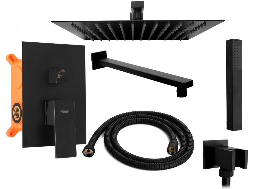 5182 black edition fenix podomitkovy sprchovy set