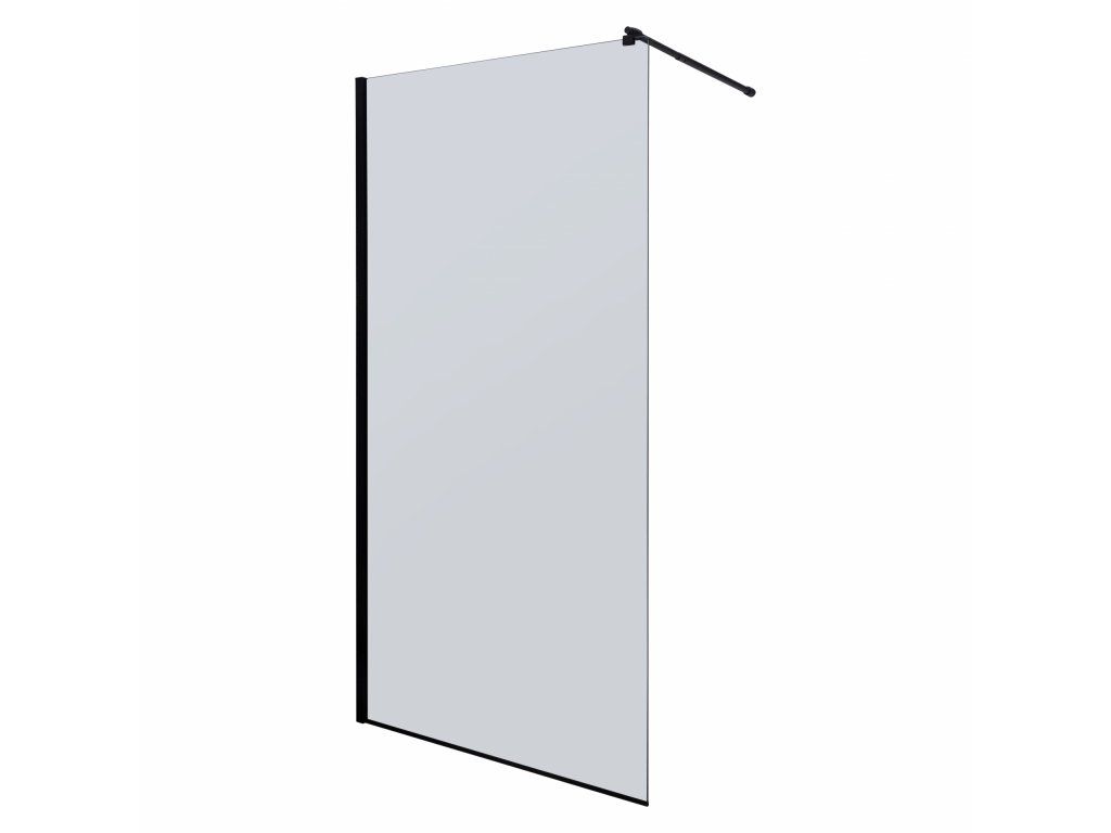 Black Edition Line 100 Walk In sprchový kout graphite (Šířka dveří 100 cm)