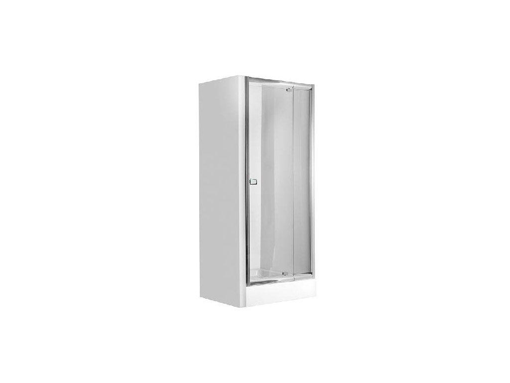 Aplomo Boom 90x185 graphite sprchové dveře (Šířka dveří 90 cm)